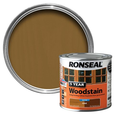 Ronseal Woodstain Oak, 250ml