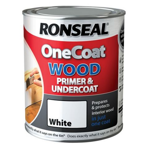 Ronseal One Coat White Primer & Undercoat 2.5L