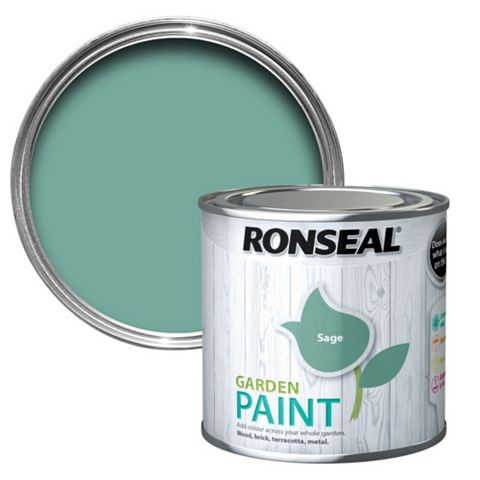 Ronseal Garden Paint Sage, 250ml