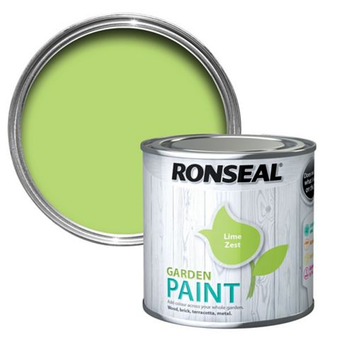 Ronseal Garden Paint Lime Zest, 250ml