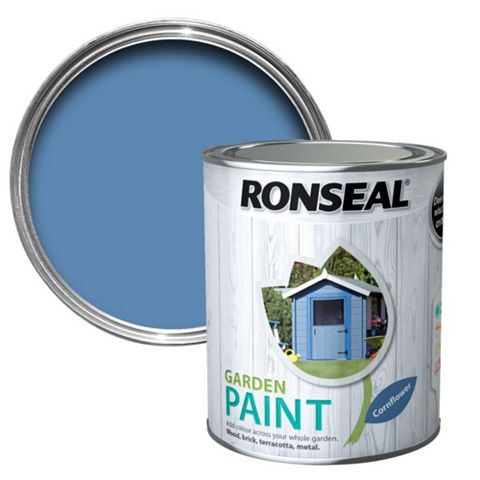 Ronseal Garden Cornflower Matt Garden Paint 750ml