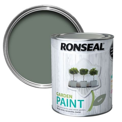 Ronseal Garden Paint Slate, 750ml