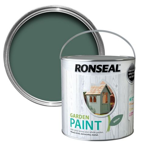 Ronseal Garden Paint Willow, 2.5L