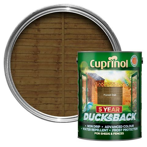 Cuprinol Shed & Fence Treatment Forest Oak, 5L