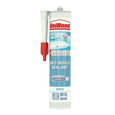 Unibond Anti-Mould Shower & Bathroom White Sealant 300 ml