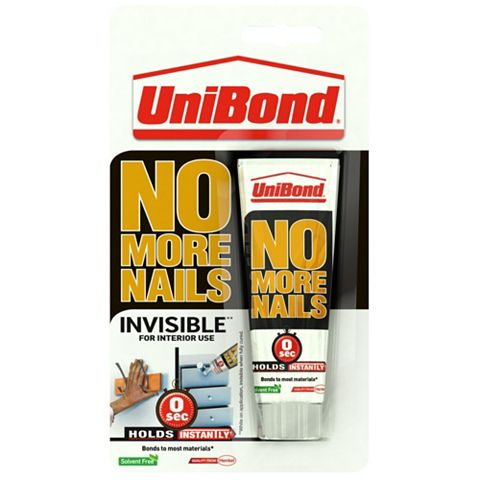 Unibond No More Nails Invisible Grab Adhesive 41ml