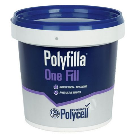 Polycell Polyfilla One Fill Filler 1L