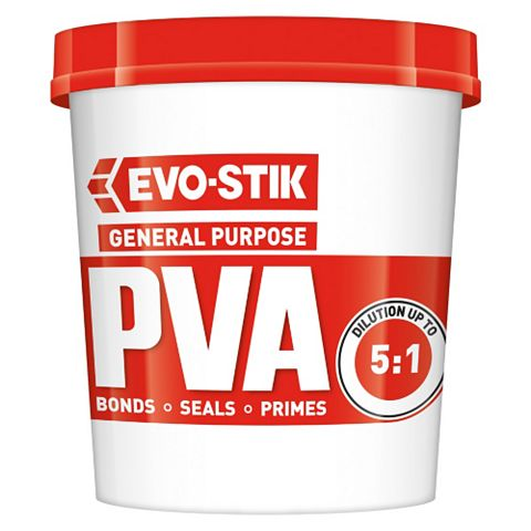 Evo-Stik Super Evo-Bond PVA Glue, 1L