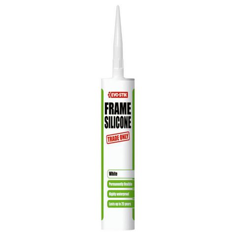 Evo-Stik 483323 Sealing & Filling Gaps & Cracks Glazing & Frame Sealant Brown