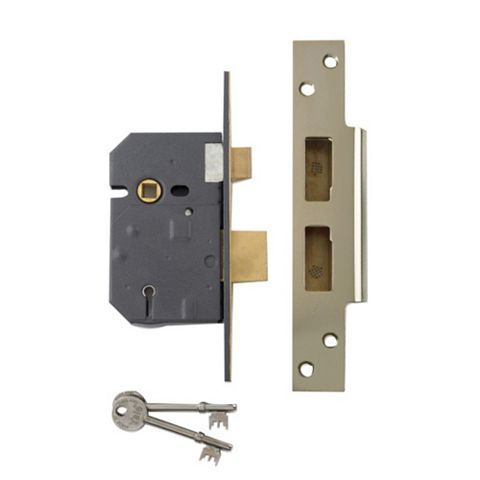 Yale 76mm Chrome Effect 5 Lever Mortice Sashlock