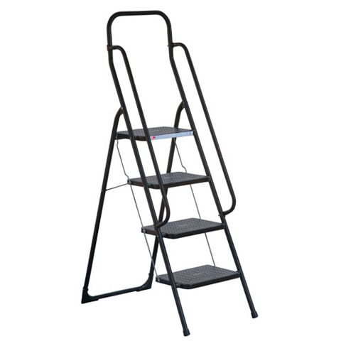 Abru 4-Tread Safety Step Stool, (H)1.66m