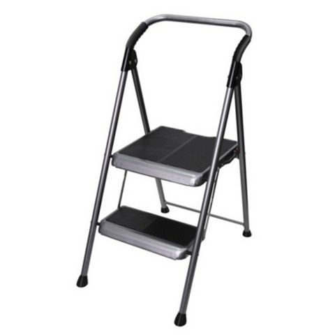 Abru 2 Tread Steel Big Step Step Stool, 1.11m