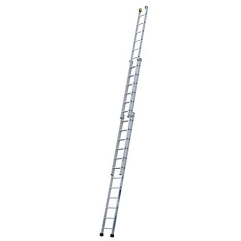 Werner Aluminium Alloy-Way Industrial Extension Ladder, (H)9.21M