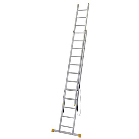 Werner Aluminium & Plastic 3-Way Extensionplus™ Combination Ladder, (H)6.04M