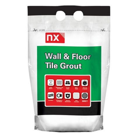 Nx Highly Polymer Modified Cement-Based Grout 5kg