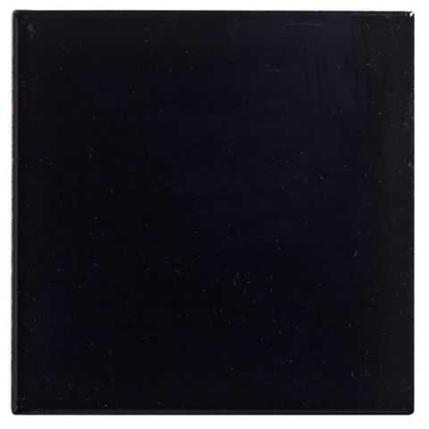 Utopia Black Ceramic Wall Tile, Pack of 25, (L)100mm (W)100mm
