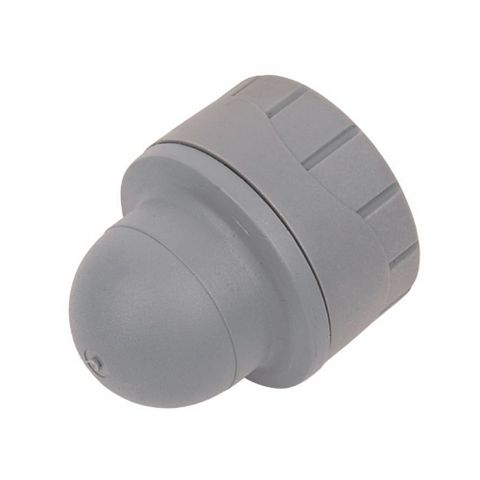 Polyplumb Push Fit Socket End (Dia)15 mm, Pack of 2