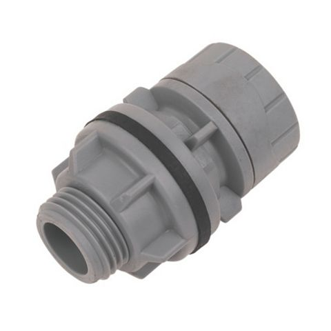 Polyplumb Push Fit Tank Connector (Dia)15 mm