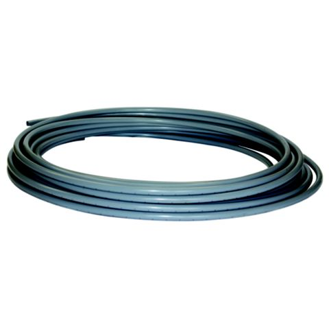 Polyplumb Push Fit Polybutylene Barrier Pipe Coil (Dia)10mm (L)50 M