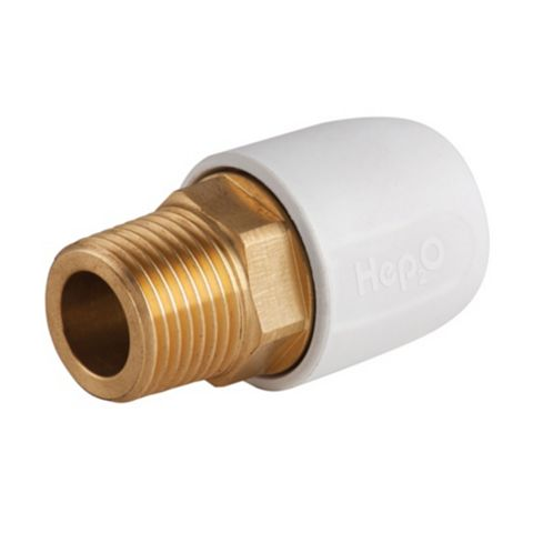 Hep2O Adapt Brass Male Socket (Dia)15 mm