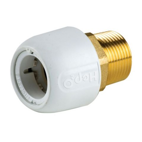 Hep2O Adapt Brass Male Socket (Dia)22 mm