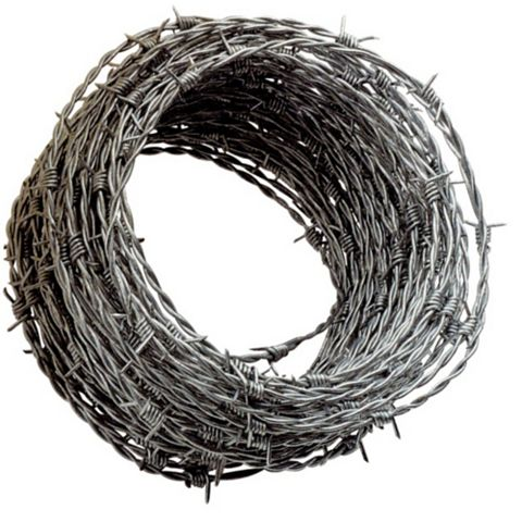Apollo Steel Barbed Wire (L)25 M (D)1.7 mm