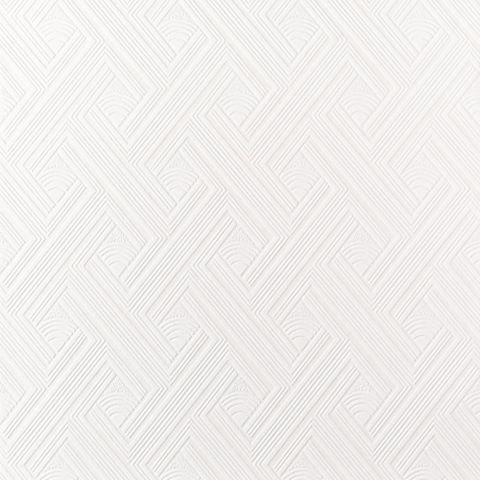 Superfresco White Diagonal Fan Paintable Wallpaper