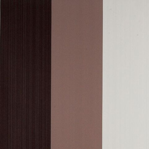 Drama Figaro Neutral Brown & Cream Stripe Wallpaper