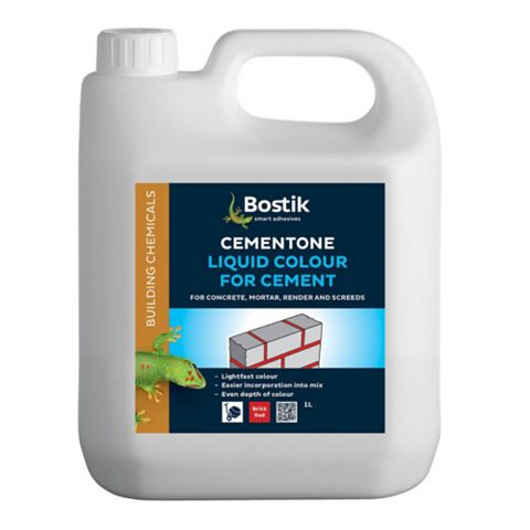 Cementone Cement Colouring, Red 1kg