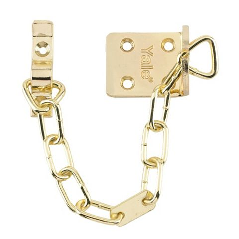 Yale V-WS6-EB Brass Effect Door Chain