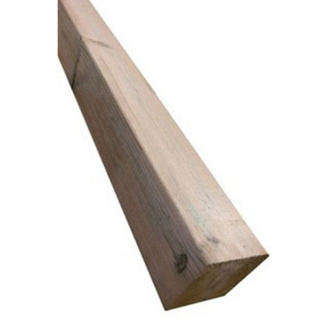 Green Softwood Spruce Deck Post (L)2400mm