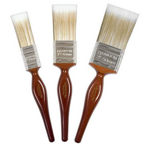 Hamilton Perfection Finely Tipped & Flagged Paint Brush (W)3