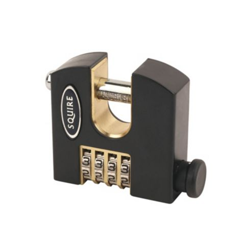 Squire Stronghold Brass 4 Wheel Combination Padlock (W)65mm
