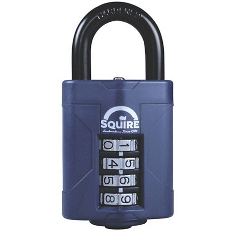 Squire Steel Body with Hardened Steel Shackle Padlock (W)48mm