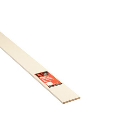 Conti MFC Furniture Panel White (L)2440mm (W)152mm (T)15mm
