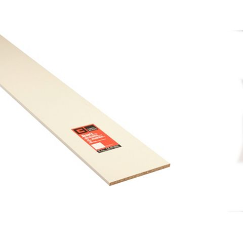 Conti MFC Furniture Panel White (L)2440mm (W)305mm (T)15mm