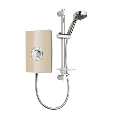 Triton Collections 8.5kW Electric Shower, Riviera Sand
