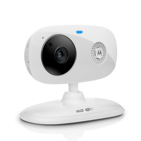 Motorola White Focus 66 Wireless Wi-Fi Home Security Camera