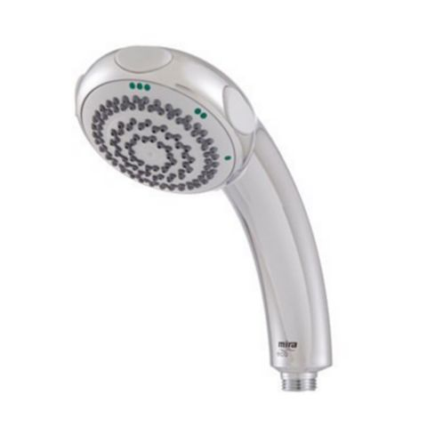 Mira 3 Spray Mode Chrome Effect Shower Head