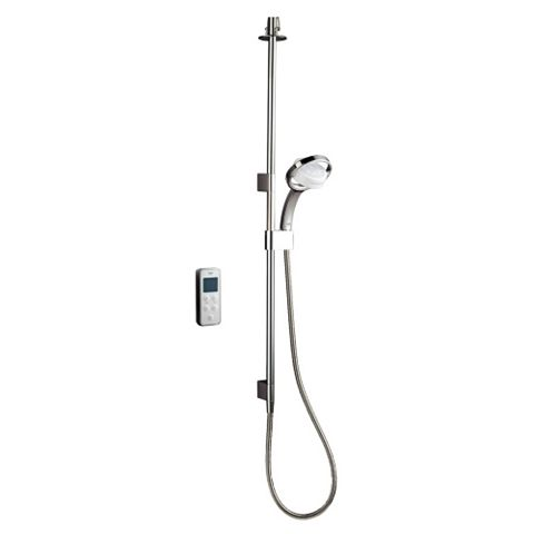 Mira Vision High Pressure Ceiling Fed Chrome Thermostatic Digital Mixer Shower