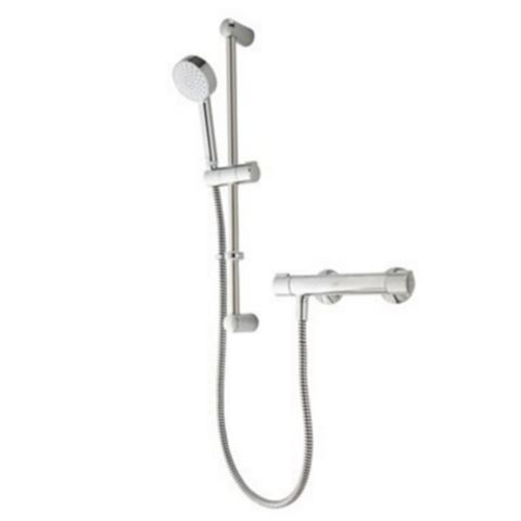 Mira Reflex Chrome Bar Mixer Shower