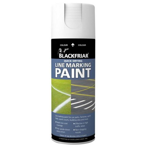 Blackfriar Line Marking Paint White, 400ml