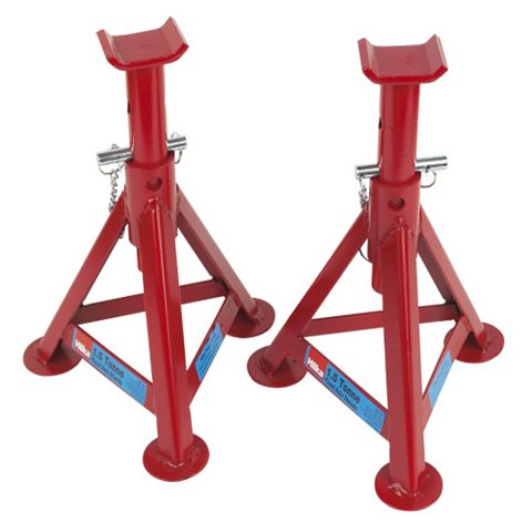 Hilka Pro-Craft Fixed Axle Stands Pair