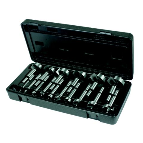 Hilka Pro-Craft 6-54 mm Forstner Drill Bit Set, 16 Piece