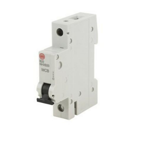 Wylex Rail Mounted MCB, 20A 230V