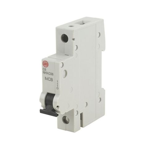 Wylex Rail Mounted MCB, 6A 230V