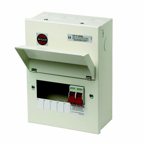 Wylex 100A 5-Way Consumer Unit