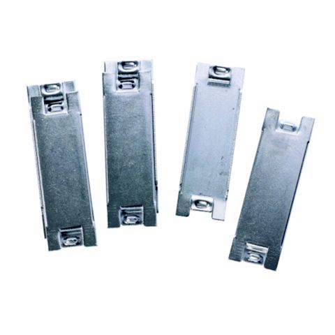Wylex Silver Blanking Plate, Pack of 10