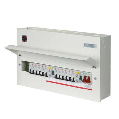 Wylex 100A 21-Way Metal Consumer Unit