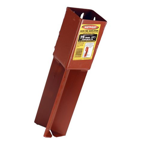 Metpost Post Support 230 x 75 x 75mm